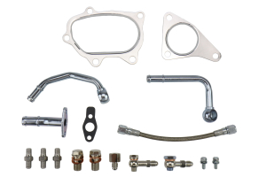 SteamSpeed JB Turbo Line and Install Kit w/ Gaskets and Oil Feed - Subaru STI 2004+