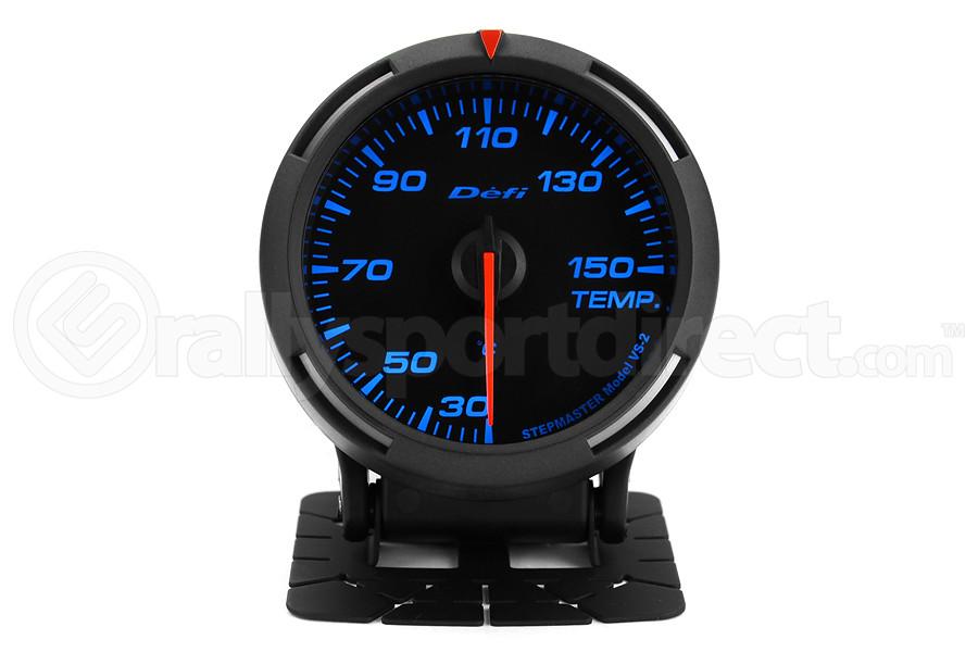Defi Blue Racer Temperature Gauge Metric 60mm 30-150C (Part Number:DF11704)