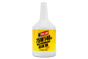 Red Line 75W140 NS GL-5 Gear Oil 1 Quart (Part Number: )