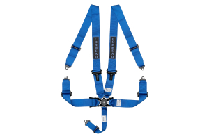 Corbeau 3 Inch 5-Point Camlock Harness Blue - Universal