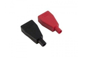 Braille Positive and Negative Rubber Terminal Covers - Universal