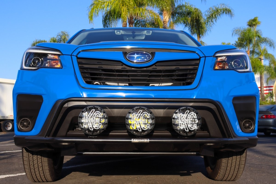 Crawford Front Bumper w/ Light Combo Kit - Subaru Forester 2019-2021