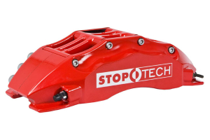 Stoptech ST-60 Big Brake Kit Front 355mm Red Slotted Rotors ( Part Number:STP 83.622.6700.71)