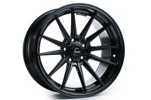 Cosmis Racing Wheels R1 18x9.5 +35 5x114.3 Black - Universal