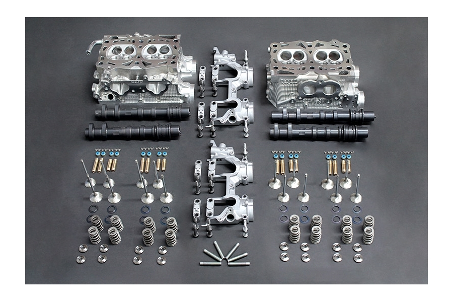 IAG Stage 4 Cylinder Head Package w/ Combustion Chamber Mod Includes GSC S3 Camshafts - Subaru WRX 2002-2005