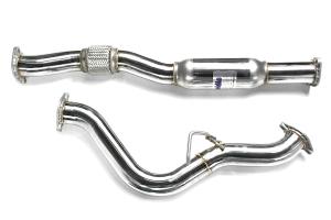 Invidia Q300 Cat Back Exhaust Titanium Tip (Part Number: )