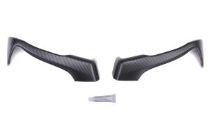 OLM Dry Carbon Fiber Interior Door Handle Covers Matte - Scion FR-S 2013-2016 / Subaru BRZ 2013+ / Toyota 86 2017+