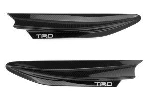 TRD Carbon Fiber Fender Fins ( Part Number:TRD MS345-18001)