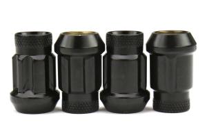 Wheelmate Monster Lug Lock Set 14x1.50 Black - Universal