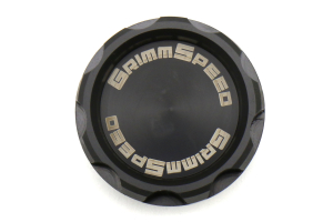 """GrimmSpeed Delrin """"Cool Touch"""" Oil Cap Version 2 - Universal"""