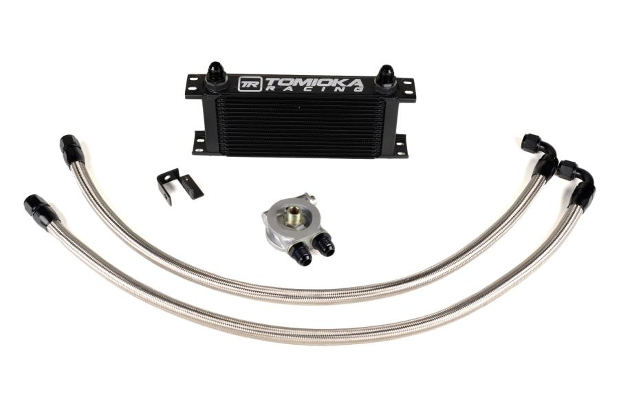 Tomioka Racing Oil Cooler Kit w/ Thermostat - Subaru STI 2008+