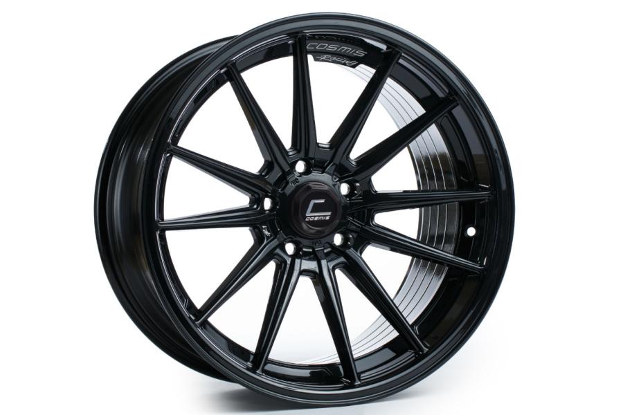 Cosmis Racing Wheels R1 18x8.5 +35 5x100 Black - Universal