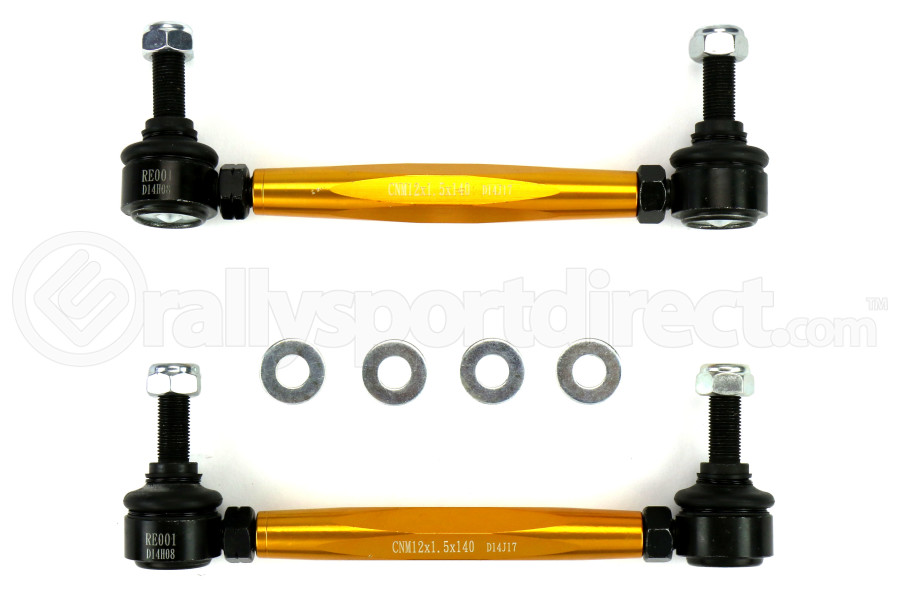 Whiteline Adjustable Ball Socket Endlinks Front - Subaru/Scion Models (inc. 2013-2016 Scion FR-S / 2013+ Subaru BRZ)