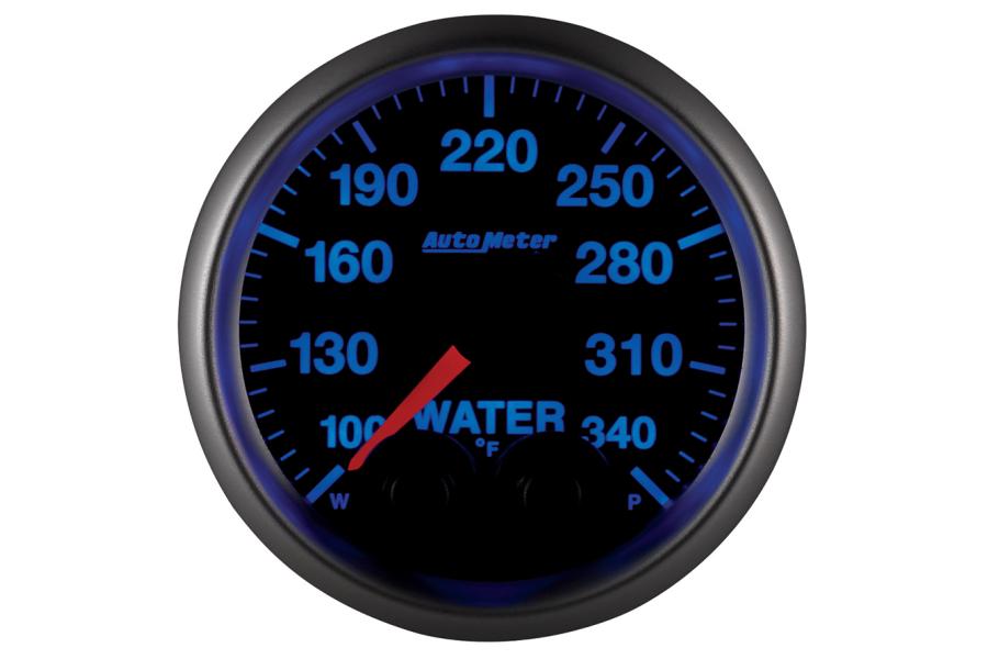 Autometer Elite Water Temperature Gauge 7 Color 52mm - Universal
