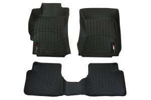 Weathertech Front and Rear Floor Liner Set Black (Part Number: )