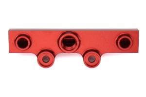 IAG V3 Top Feed Fuel Rails Red - Subaru Models (inc. 2002-2014 WRX / 2007+ STI)