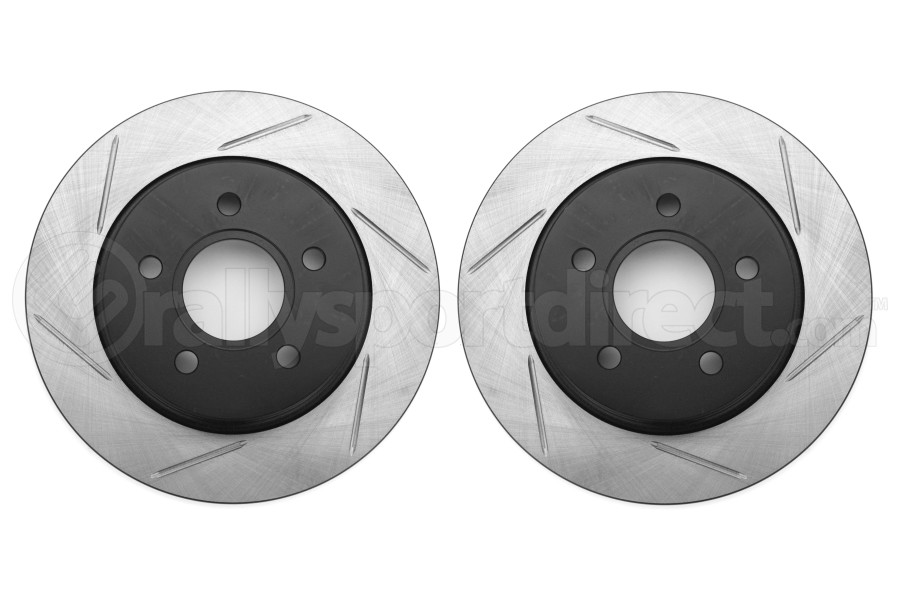 Stoptech Slotted Rear Rotor Pair (Part Number:126.61099S-GRP)