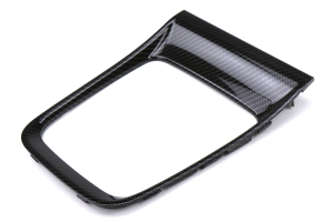 Subaru OEM Carbon Fiber CVT Shifter Trim Plate - Subaru WRX CVT 2015 - 2020