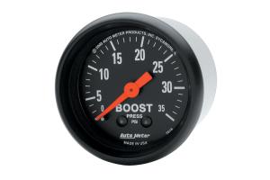 Autometer Z-Series Boost Gauge Mechanical 52mm - Universal