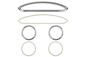 GCS Anodized Aluminum A/C Vent Trim Silver (Part Number: )