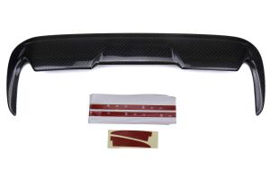 OLM BM Style Carbon Fiber Hood Scoop - Subaru WRX / STI 2015+