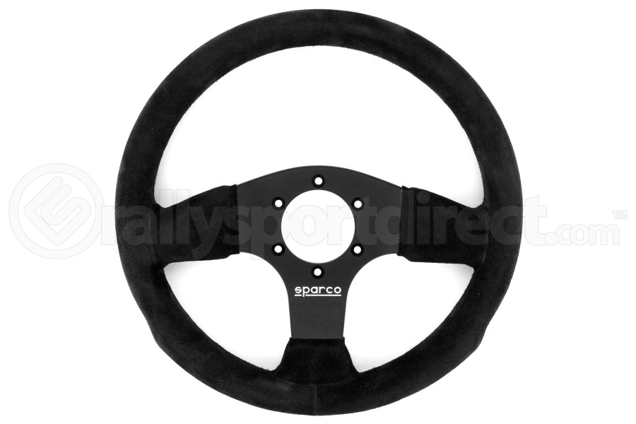 Sparco Steering Wheel 300 Black Suede ( Part Number:SPR2 015P300SN)