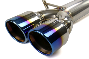 ETS Extreme Catback Exhaust System w/Blue Tips (Part Number: )