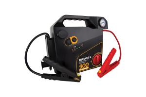 Duracell 900 Peak Amp Portable Emergency Jumpstarter with Compressor - Universal