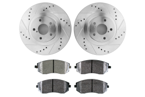 Hawk Performance Rotors w/ PC Pads Kit Front ( Part Number: HK5339.352Z)