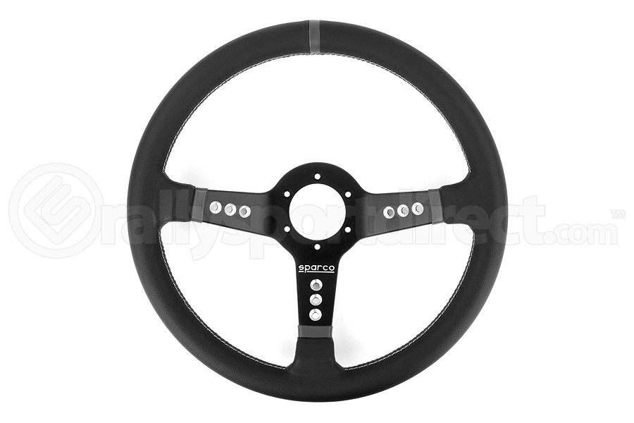 Sparco Steering Wheel L777 Piuma Leather (Part Number:015L800PL)