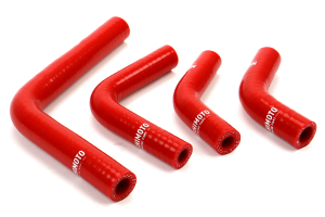 Mishimoto Silicone Ancillary Hose Kit Red (Part Number: )