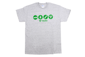 Tein Circle T-Shirt Grey (Part Number: )