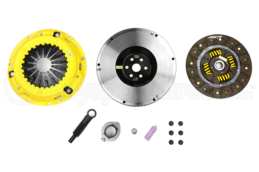 ACT Heavy Duty Performance Street Disc Clutch Kit StreetLite Flywheel Included (Part Number:ZX5-HDSS)