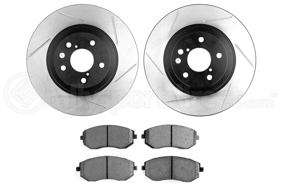 Stoptech Street Axle Pack Slotted Front (Part Number:937.47003)