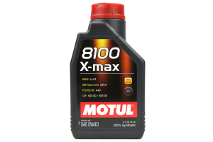 Motul 8100 X-MAX Synthetic Engine Oil 0W40 1L - Universal
