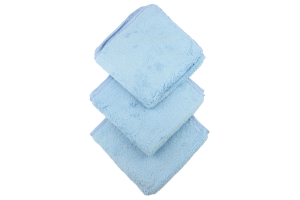 Chemical Guys Shaggy Fur-Ball Premium Detailing Microfiber Towel Blue (3 Pack) - Universal