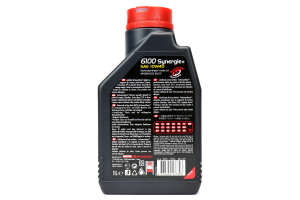 Motul 6100 Synergie+ 10W40 Oil 1L (Part Number: )