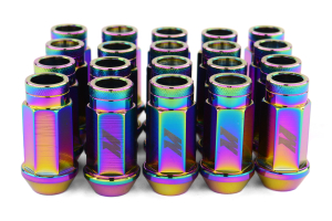 Mishimoto Aluminum Locking Lug Nuts Neo Chrome 12x1.50 (Part Number: MMLG-15-LOCKNC)