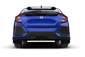 Rally Armor UR Mudflaps Black Urethane Blue Logo (Part Number: )