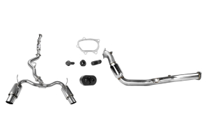 Turbo-Back Exhaust Stainless Steel Tip System 08-14 STI Hatchback ( Part Number:RSD SSTBS08-14HTH)