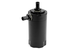 Mishimoto Baffled Oil Catch Can Black Universal ( Part Number:MIS MMBCC-UNI-BK)