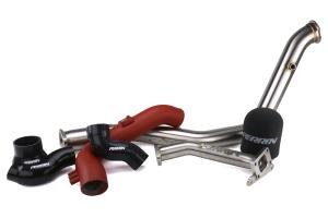 PERRIN Performance Rotated Tuner Kit w/ Intake Red - Subaru WRX / STI 2008 - 2014