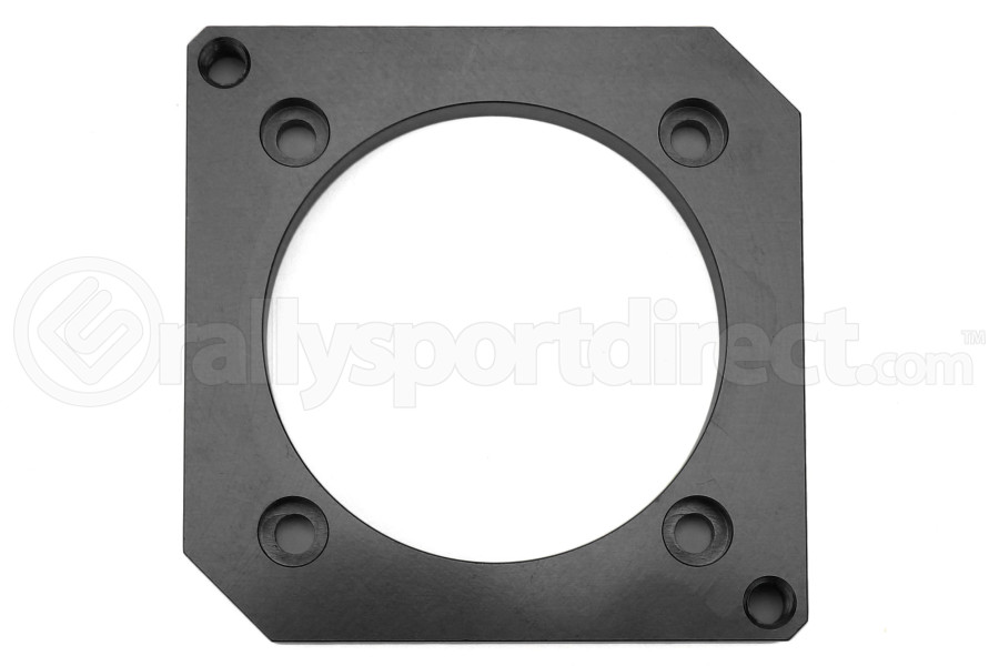 Boomba Racing Throttle Body Adapter 75mm Black (Part Number:001-30-015B)