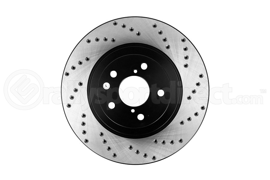Stoptech Drilled Rotor Single Front Left - Subaru Models (inc. 2009-2013 WRX)