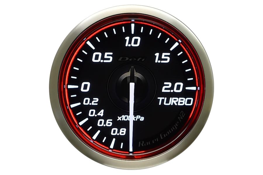 Defi DF Racer N2 Metric Boost Gauge 52mm - Universal