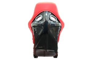 NRG Innovations FRP Large Clotch Bucket Seat Red - Universal