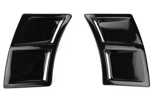 OLM S207 Style Paint Matched Rear Bumper Vent Inserts - Subaru WRX / STI 2015+