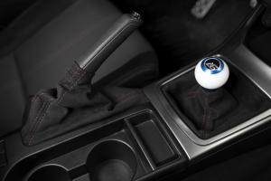 AutoStyled Subaru 5 Speed Shift Knob Blue w/ White Delrin Center - Subaru 5MT Models (inc. 2002-2014 WRX)