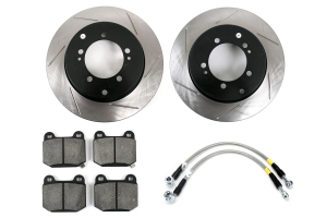 Stoptech Sport Kit Slotted Rear ( Part Number:STP 977.46003R)