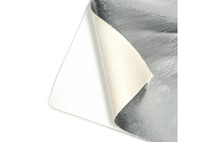 Mishimoto Aluminum Silica Heat Barrier w/ Adhesive Backing 24 - Universal